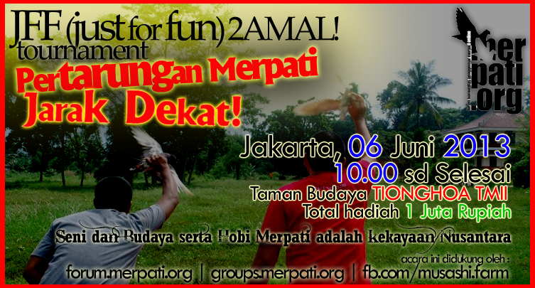 JFF2AMAL! Tournament. 06 Juni 2013 TMII