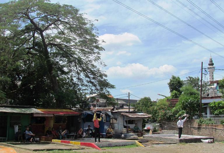 Lapak Flamboyan Pondok Karya, Lapak Tomprang Paling Ideal di Jakarta?