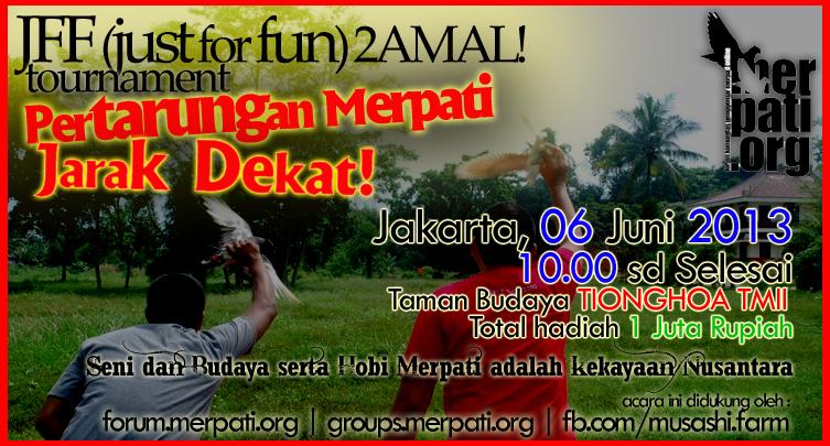 JFF2AMAL! Tournament. 06 Juni 2013 TMII