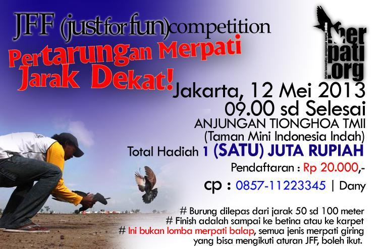 Gathering dan Lomba JFF Competition 12 Mei 2013