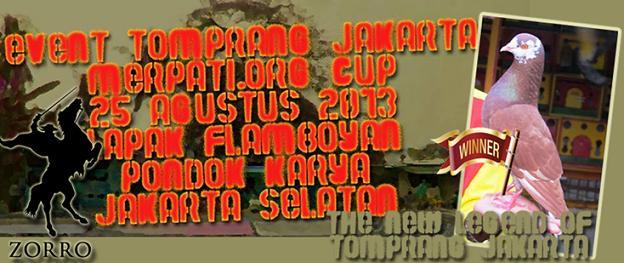 EVENT TOMPRANG PERDANA DI JAKARTA | MORG CUP | LAPAK FLAMBOYAN